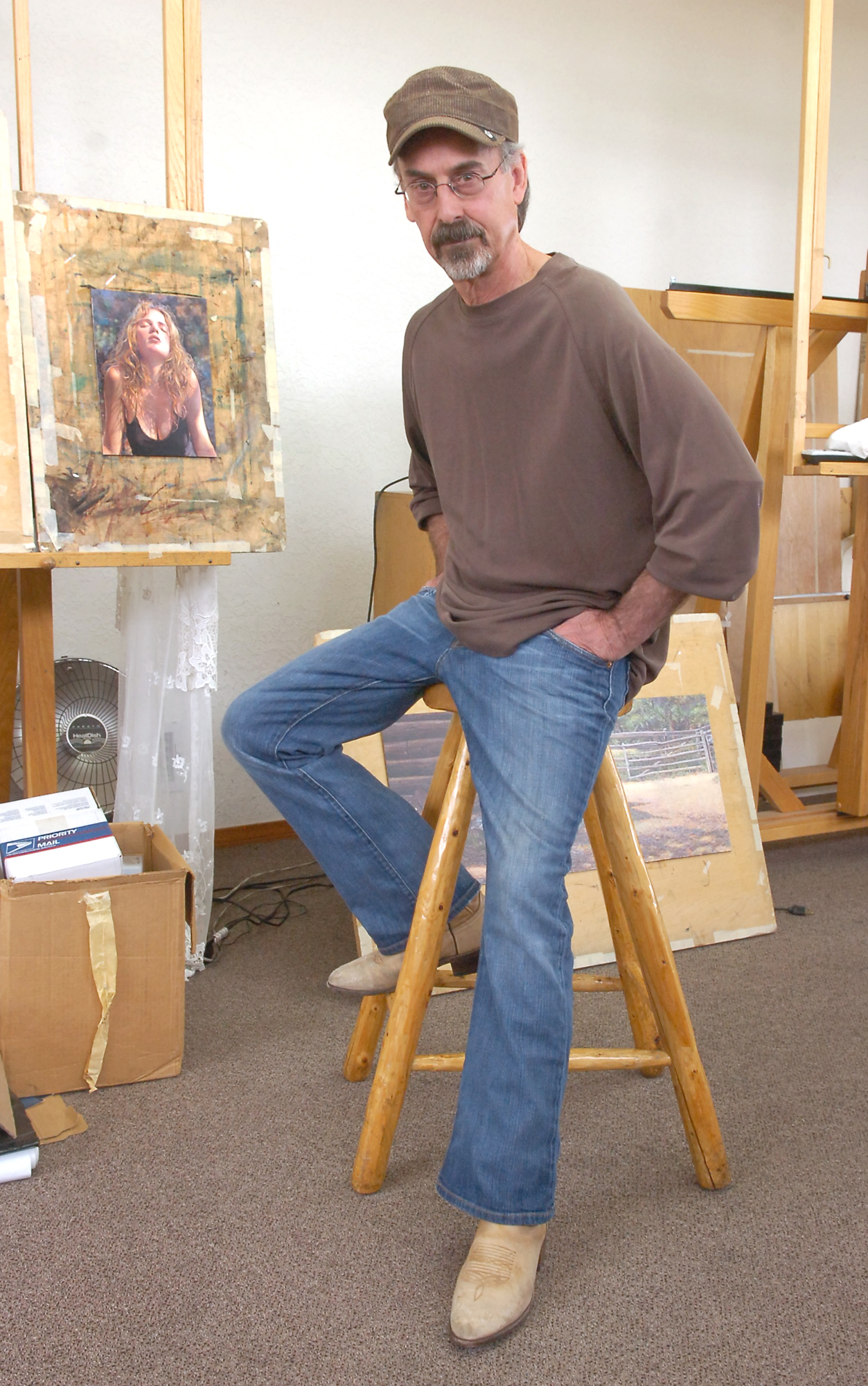Watercolorist Steve Hanks Dies At Age 66 Albuquerque Journal