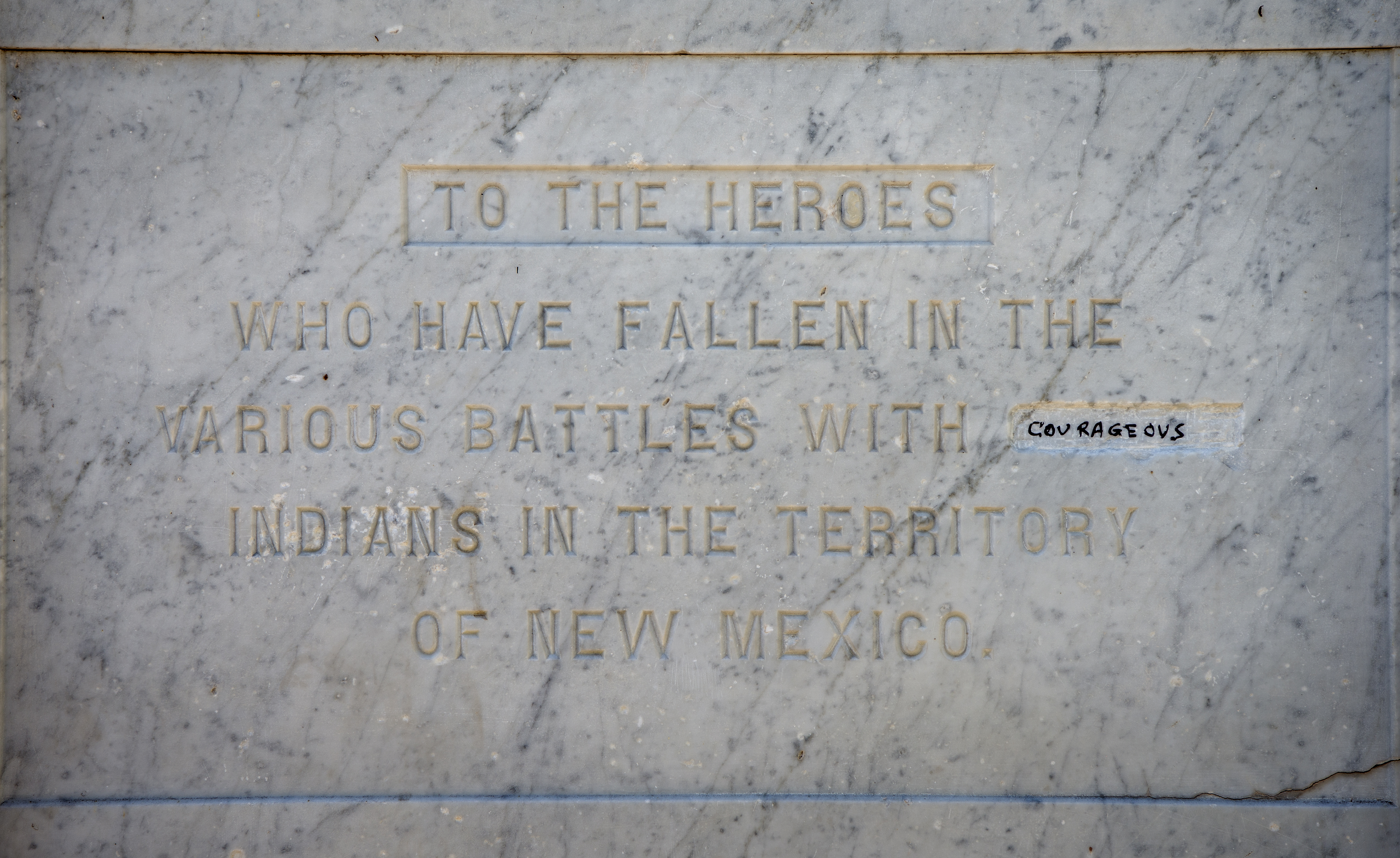 Santa Fe To Review Markers Monuments Albuquerque Journal