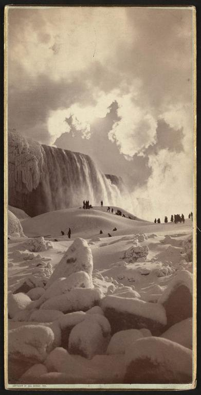 People Used To Walk To Canada Across Frozen Over Niagara