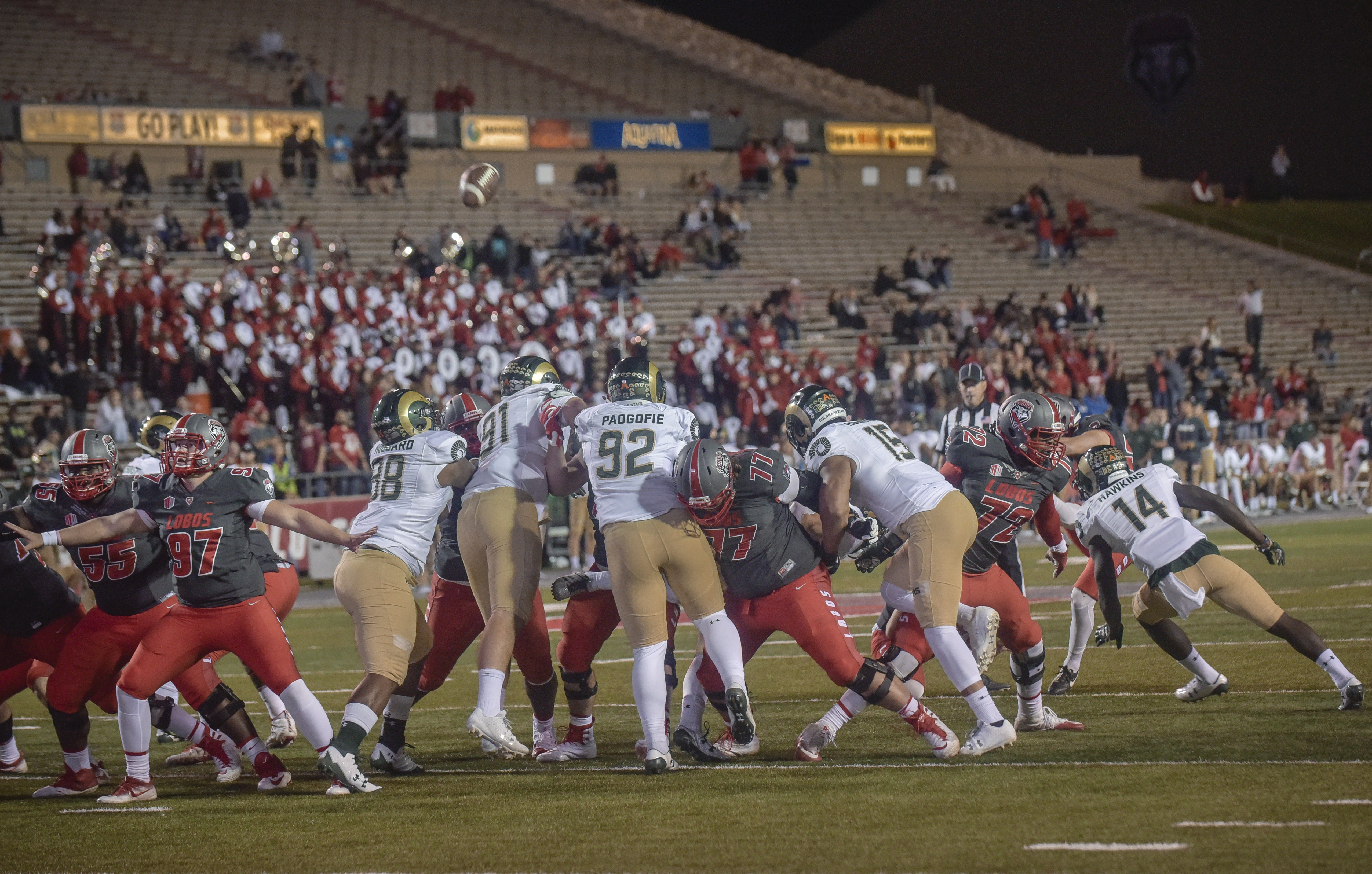 Lobo FB on pace to meet its reined in ticket revenue projections