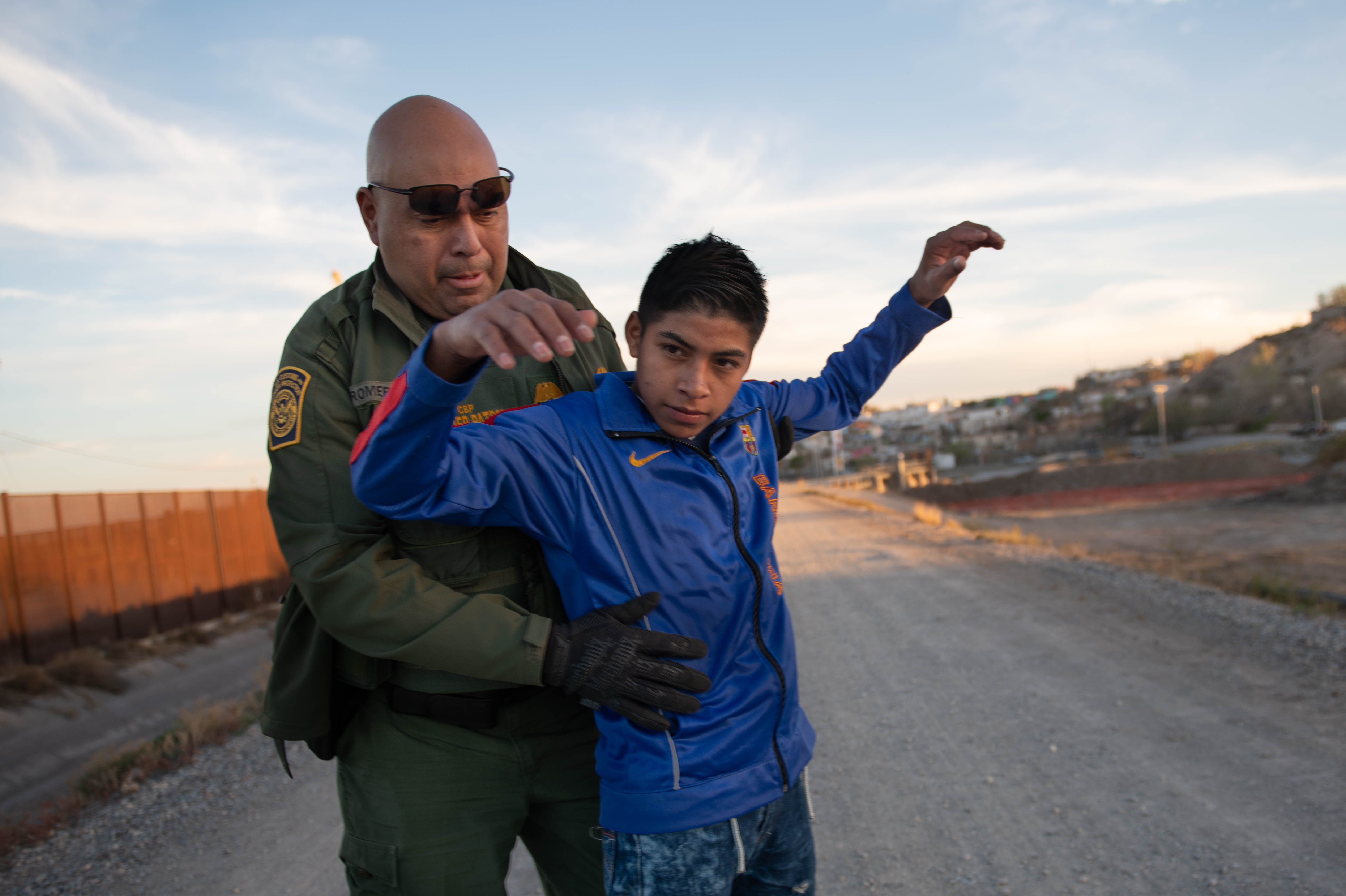 Crossing U S  border first step in complex asylum process