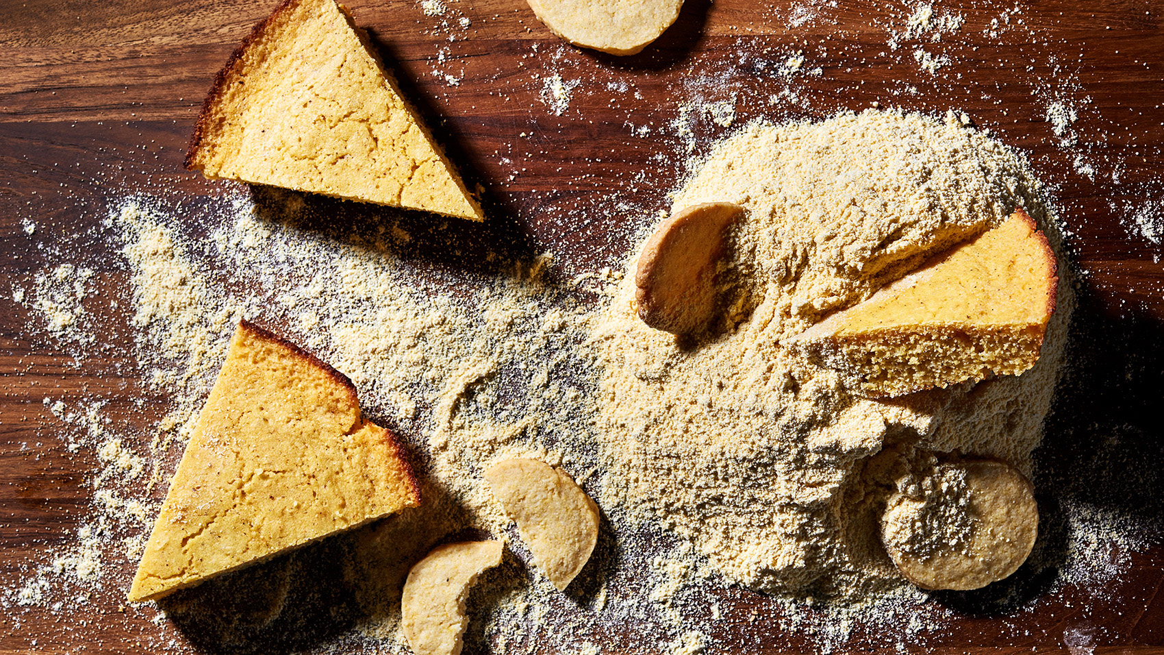 Cornmeal has a multicultural history in America