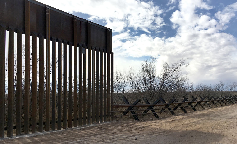 Most Of Trump Emergency Wall Goes Through Nm Albuquerque Journal