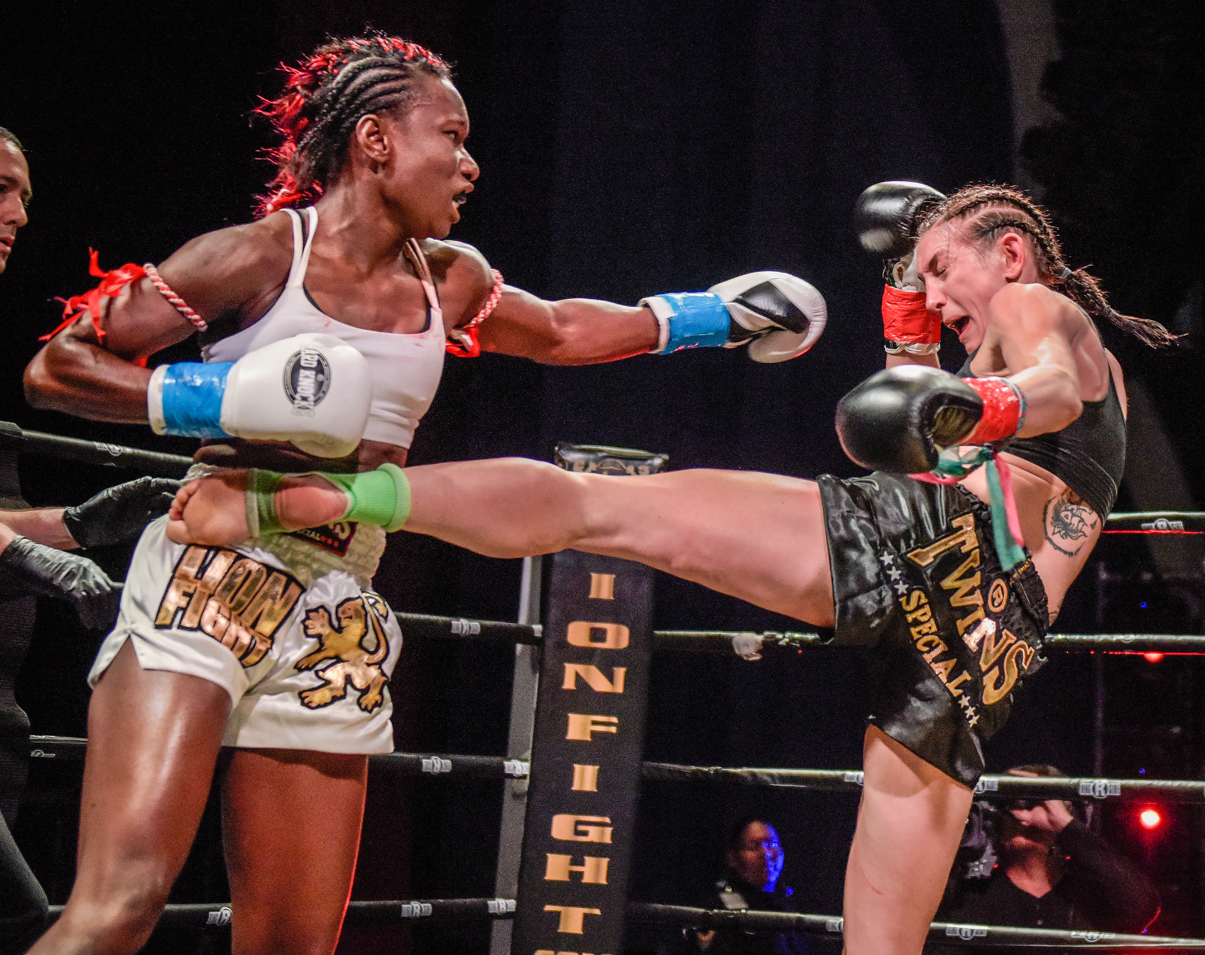 Tobin's performance in clinch wins Muay Thai bout