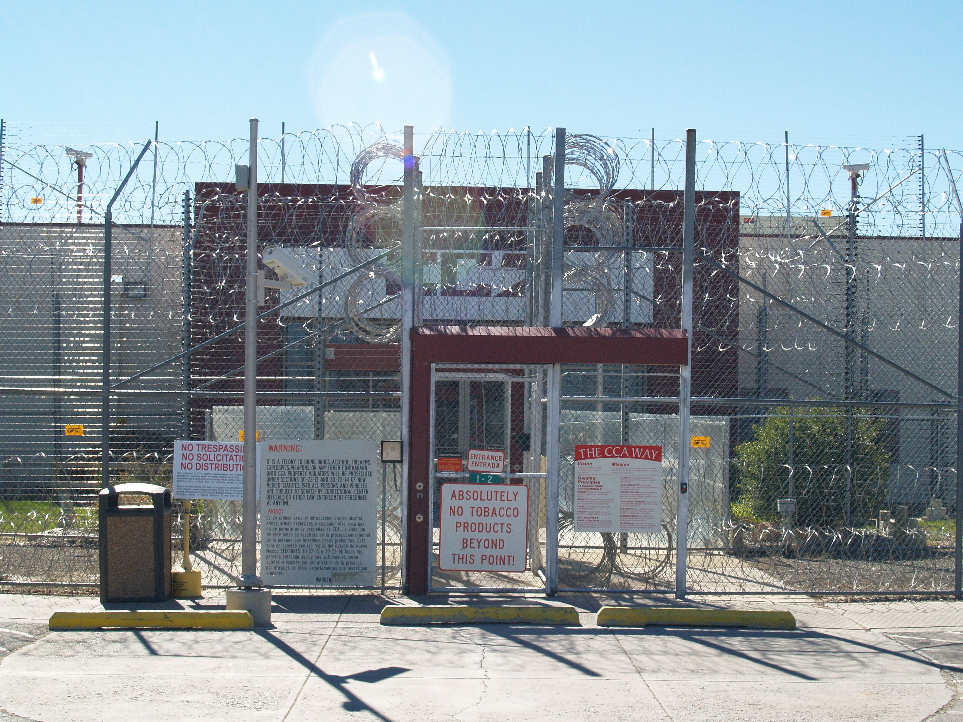 Closed prison in Estancia may hold detained immigrants