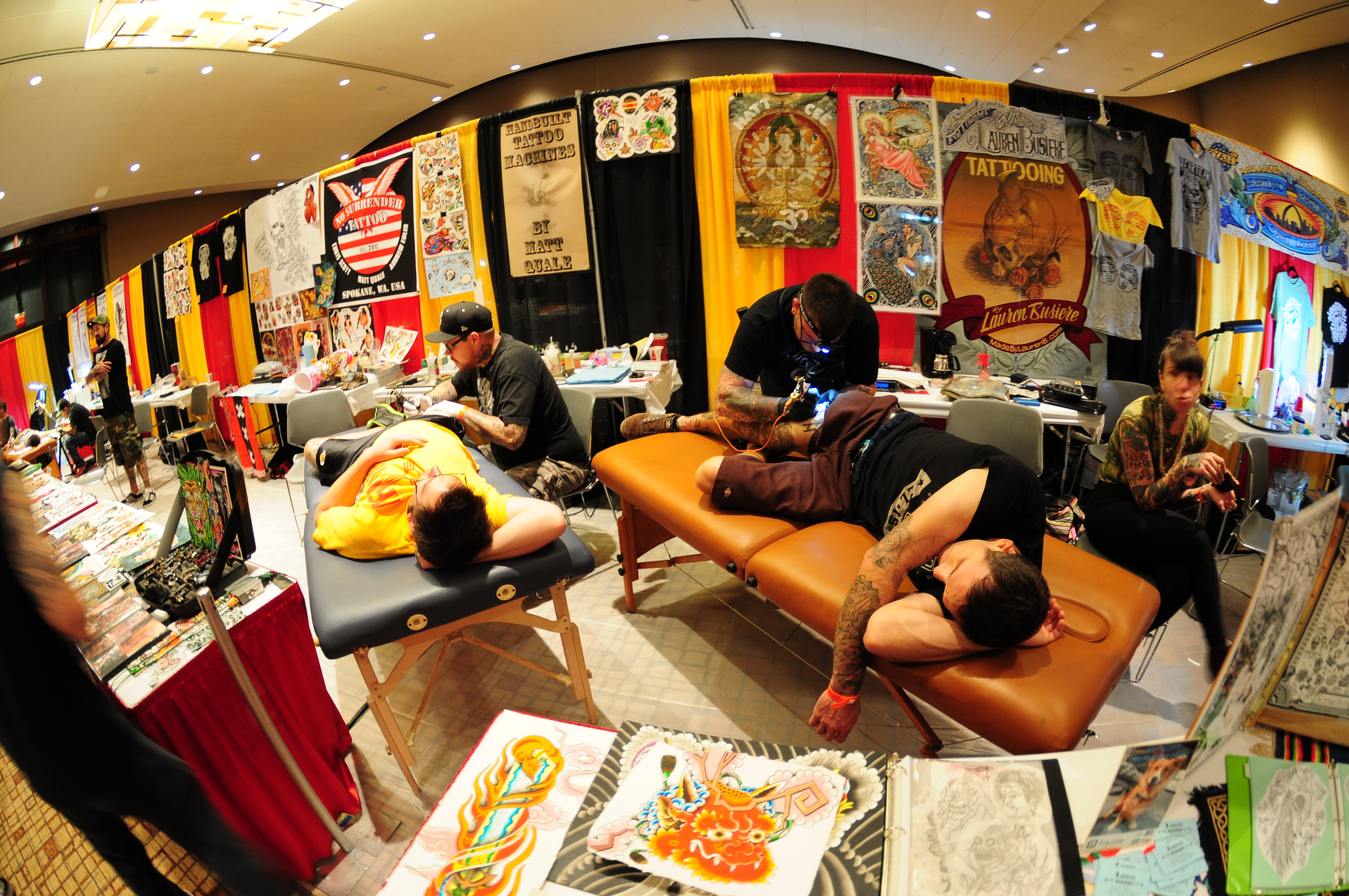 Get some fresh ink done: Hundreds of tattoo artists will be