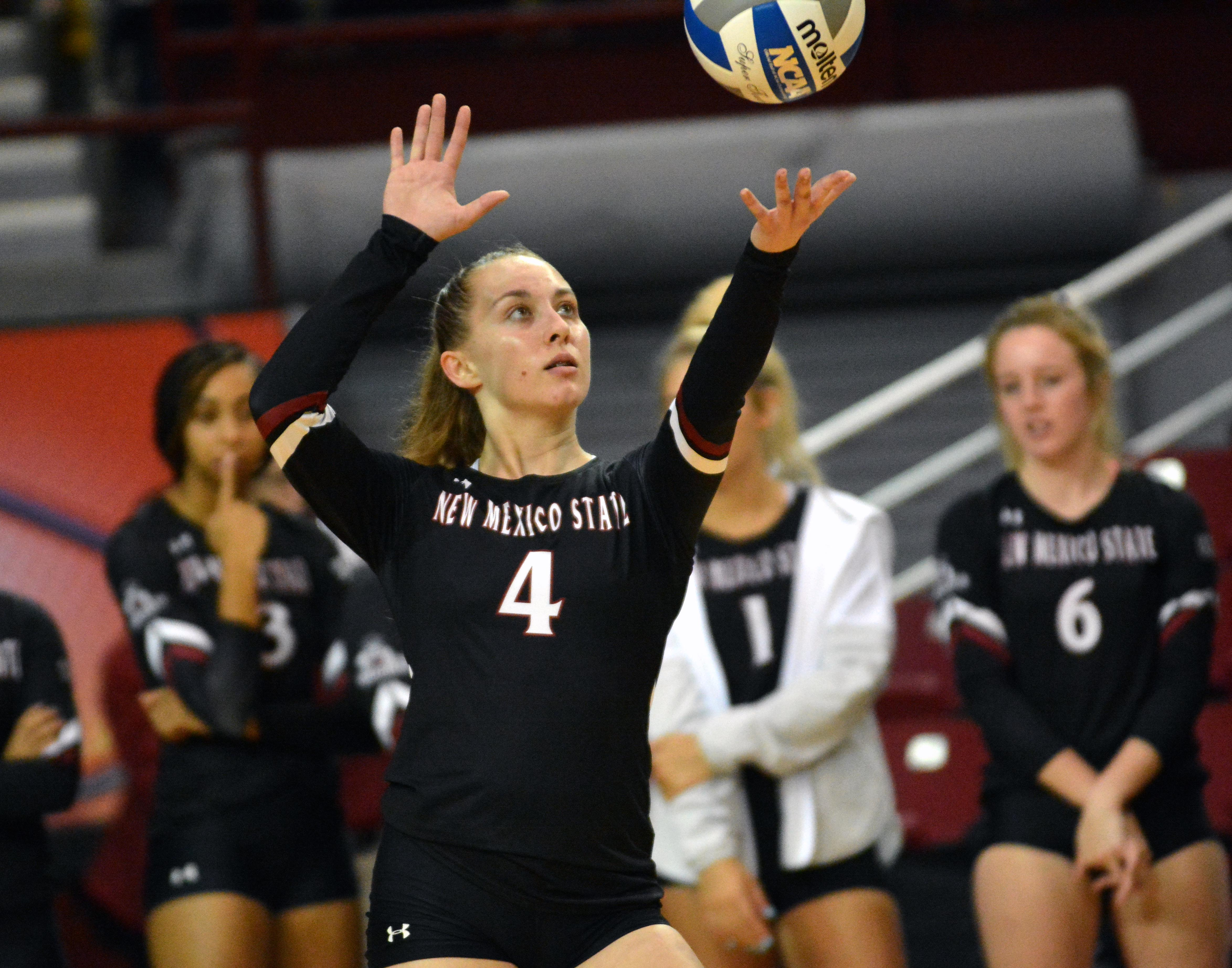 Volleyball: New Mexico State sweeps UNM » Albuquerque Journal