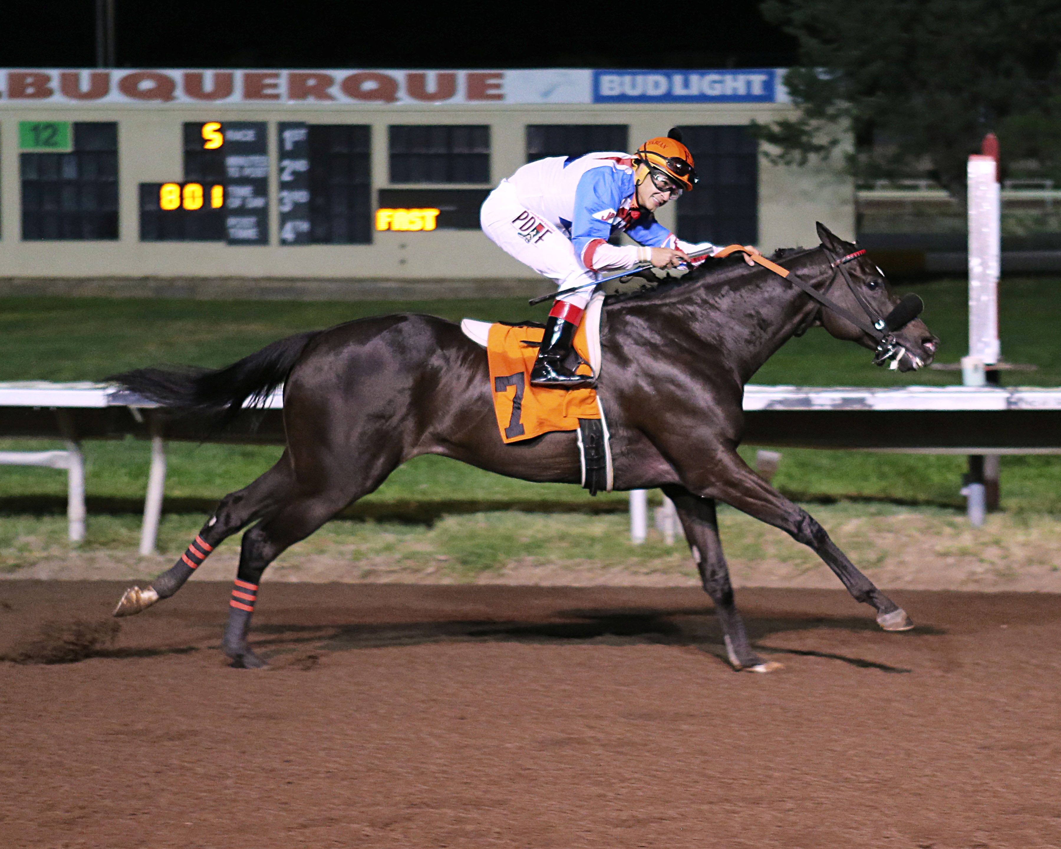 ABQ Downs: Black Ops wins $55,000 Budweiser Special Stakes