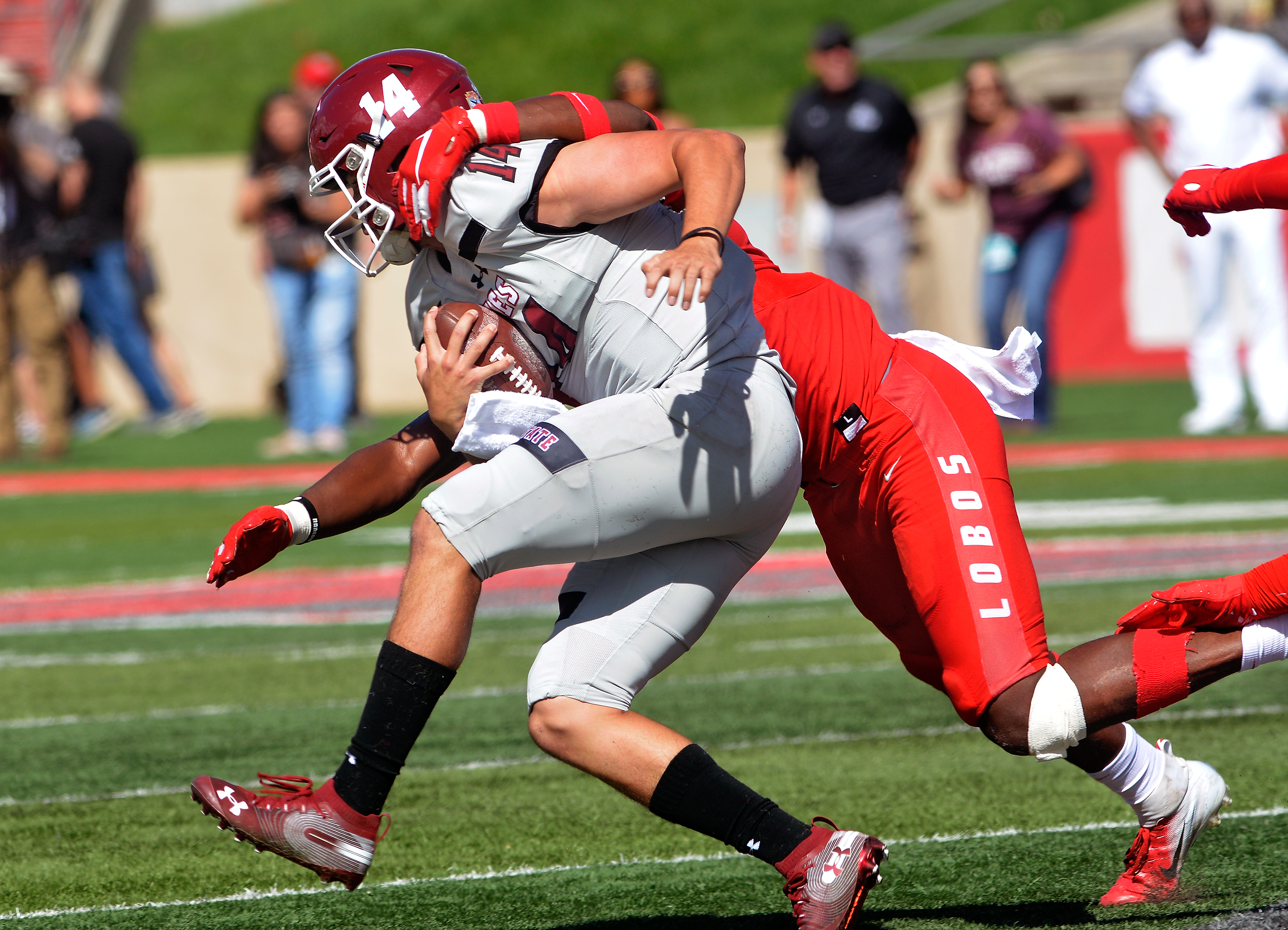 As Aggies offense makes its point, defense gives 'em up