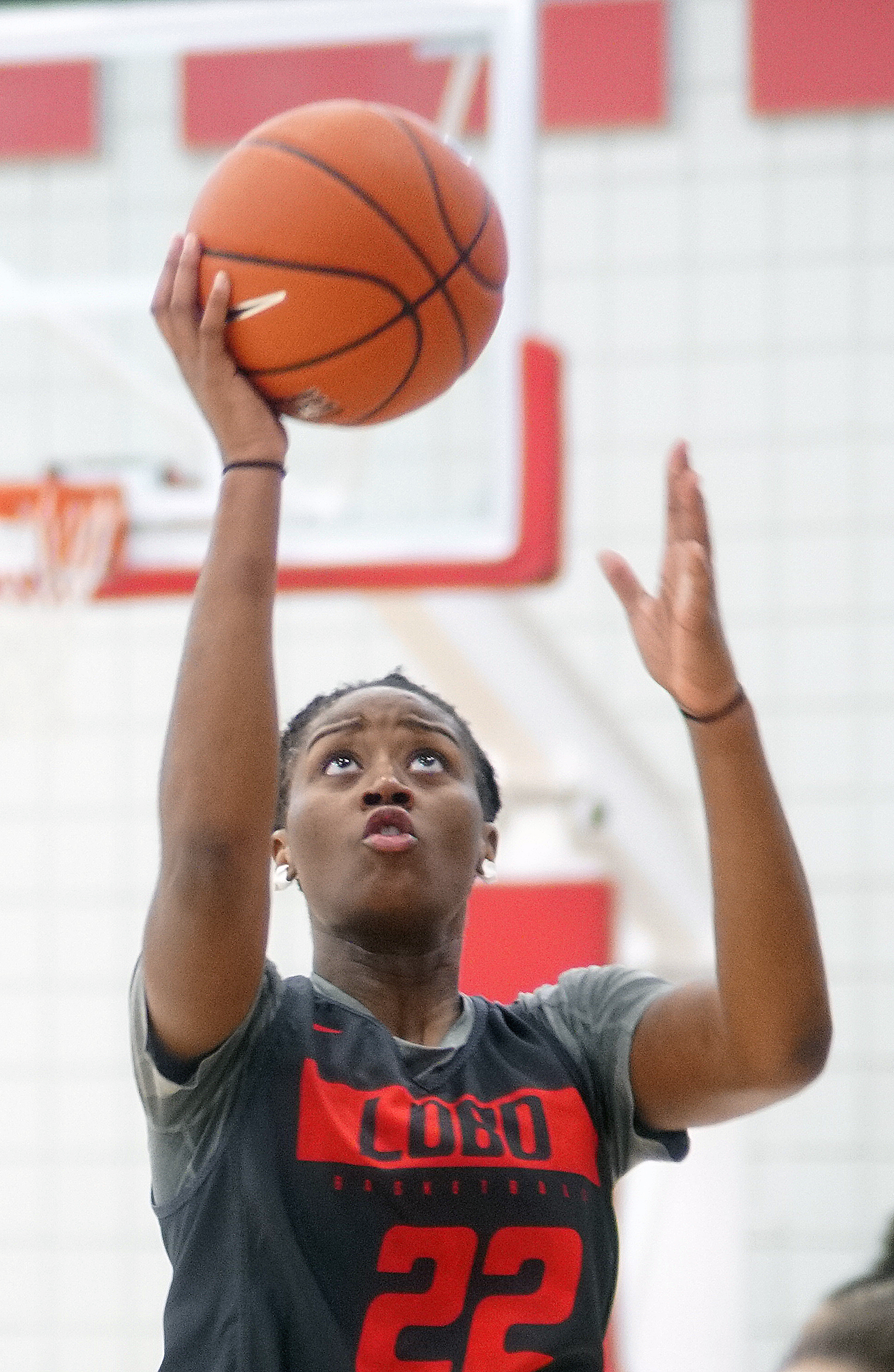New Lobo Hosey adjusts to mile-high elevation, expectations