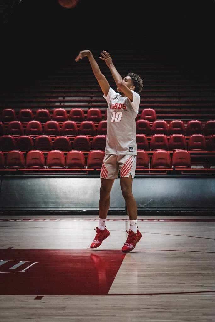 Lobo hoops lands third commitment of 2020 recruiting class