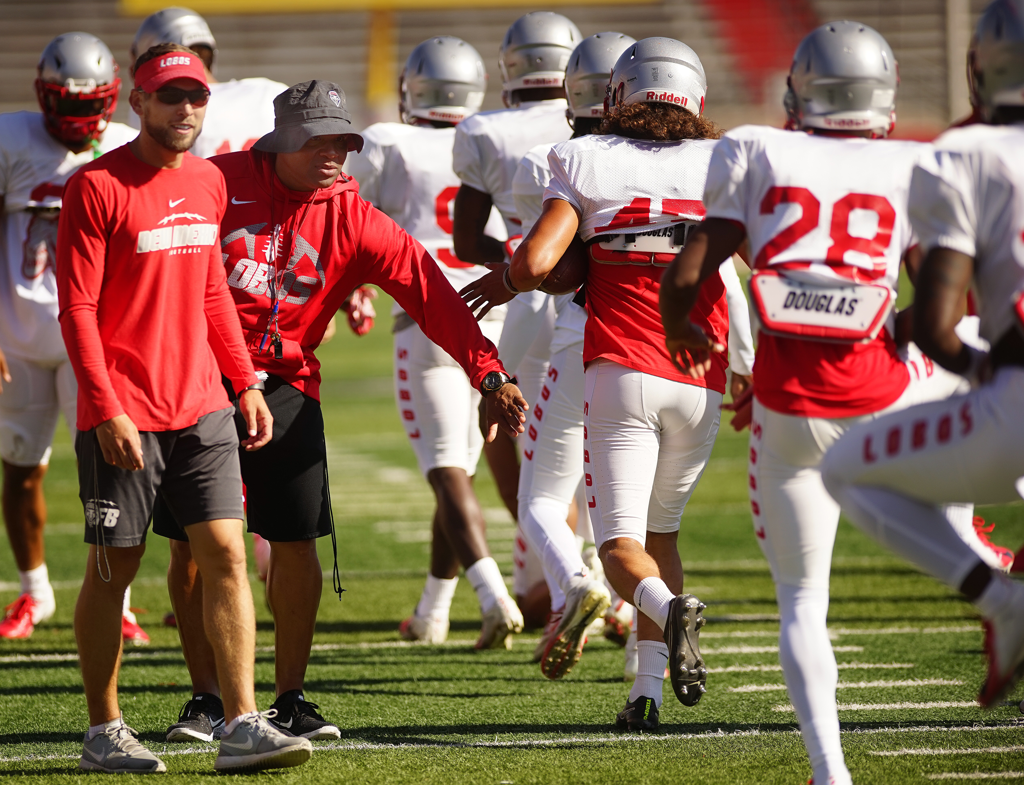 Lobo football staff's status also is up in the air
