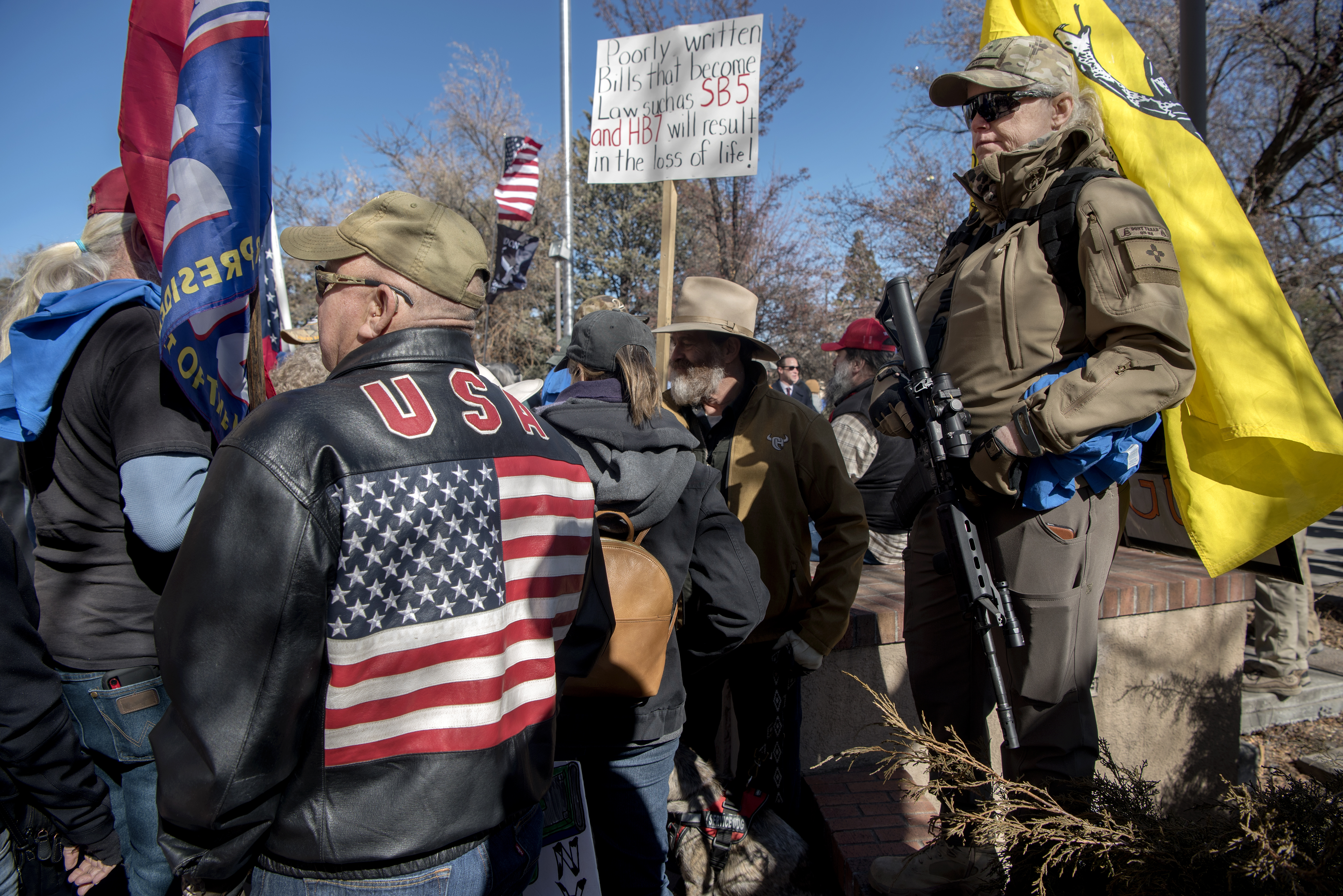 Gun Owners Rally At The Capitol Albuquerque Journal