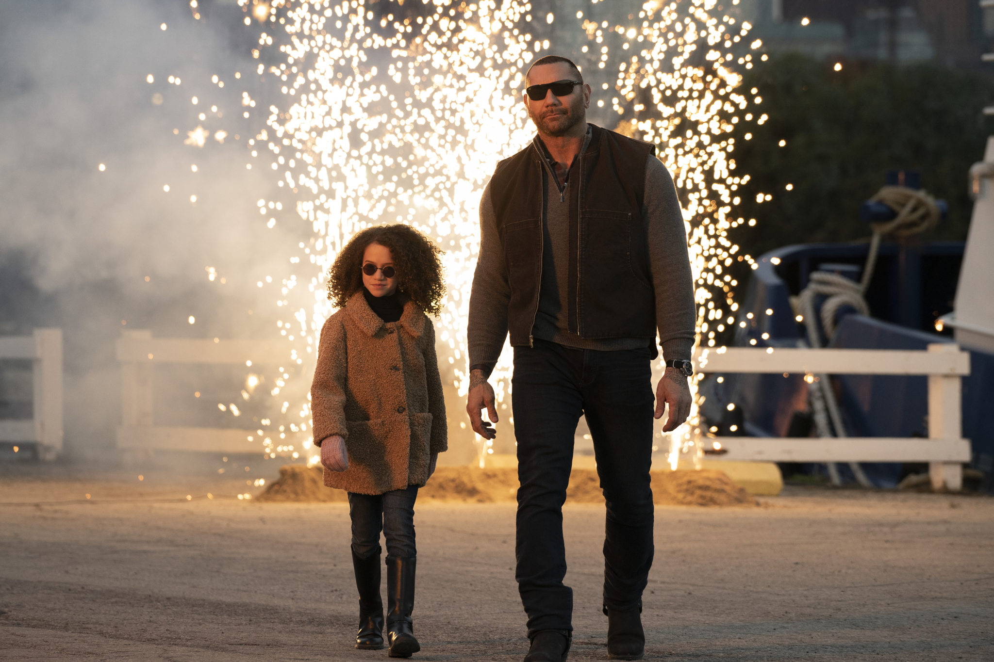Wacky caper: Action comedy 'My Spy' pairs CIA agent with precocious 9-year-old