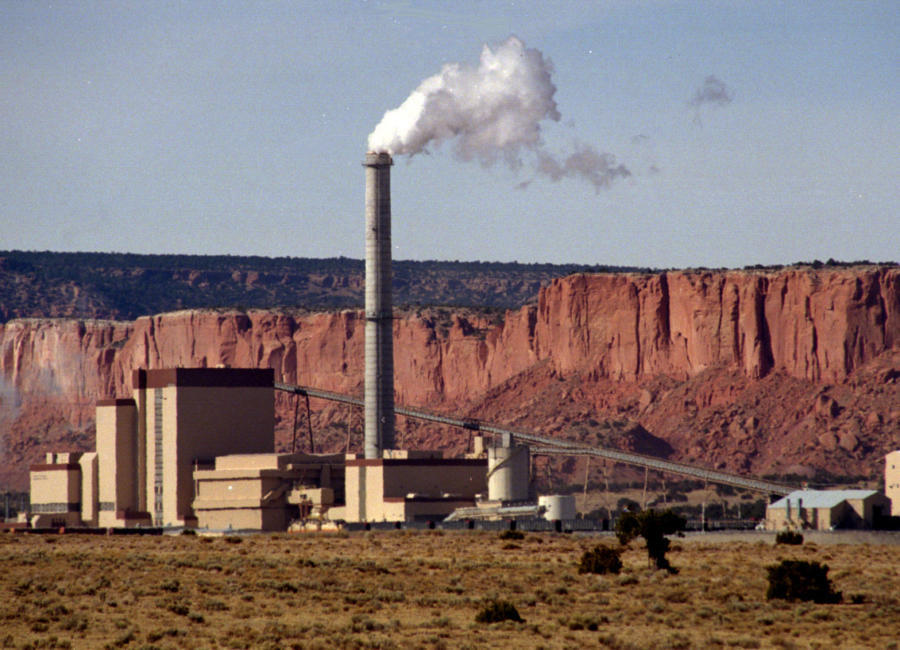 The Plains Escalante Generating Power Plant in Pruitt is closing by year's end. (Albuquerque Journal)