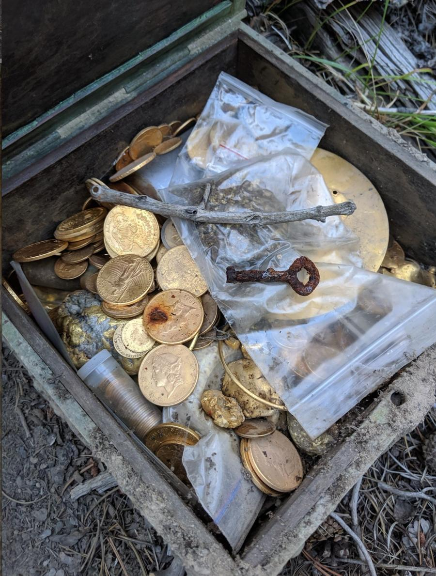 """Forrest Fenn said he hid this treasure chest and and then reported it was recently found by """"a man from back East."""""""