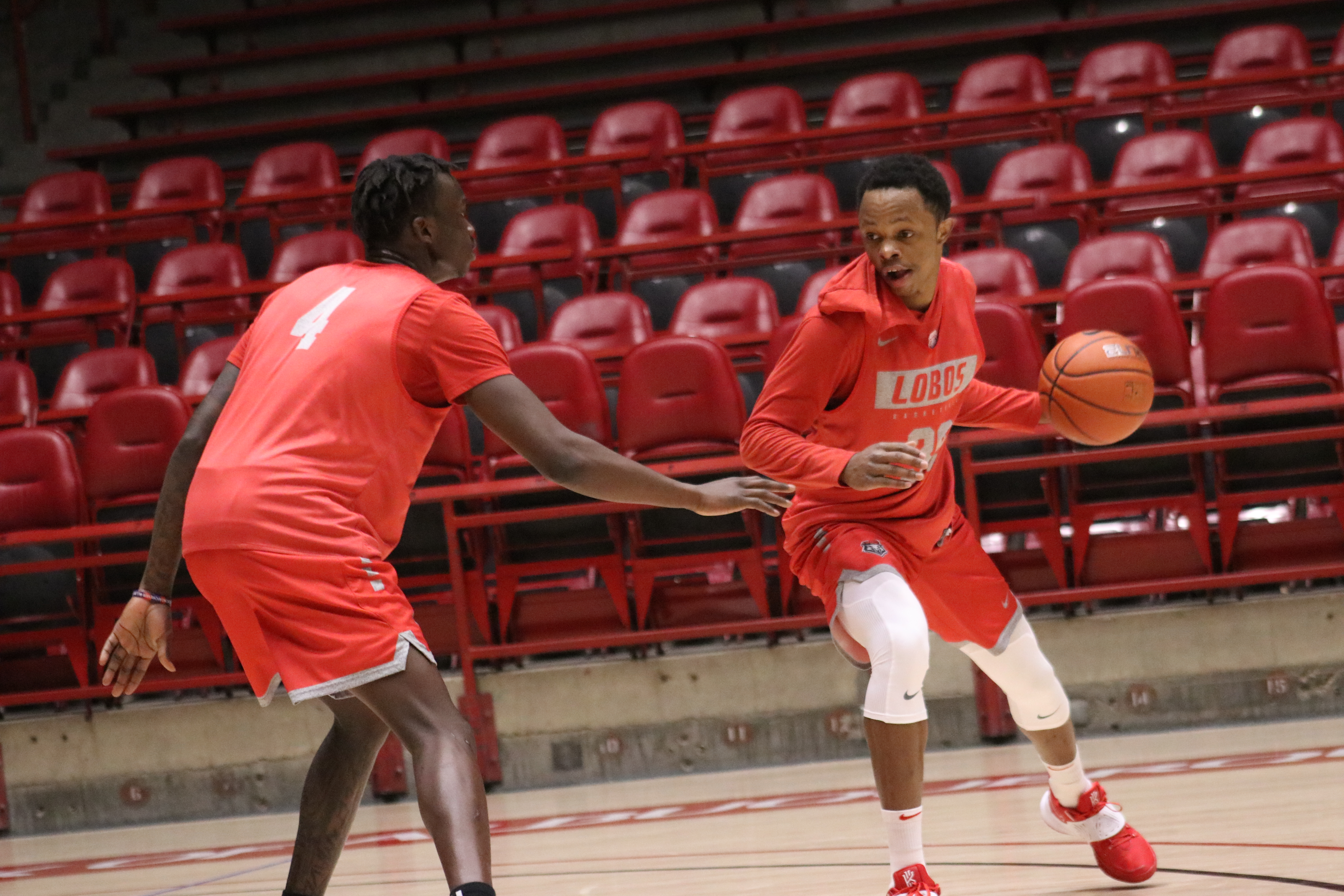 Lobos happy to be back home, even if briefly