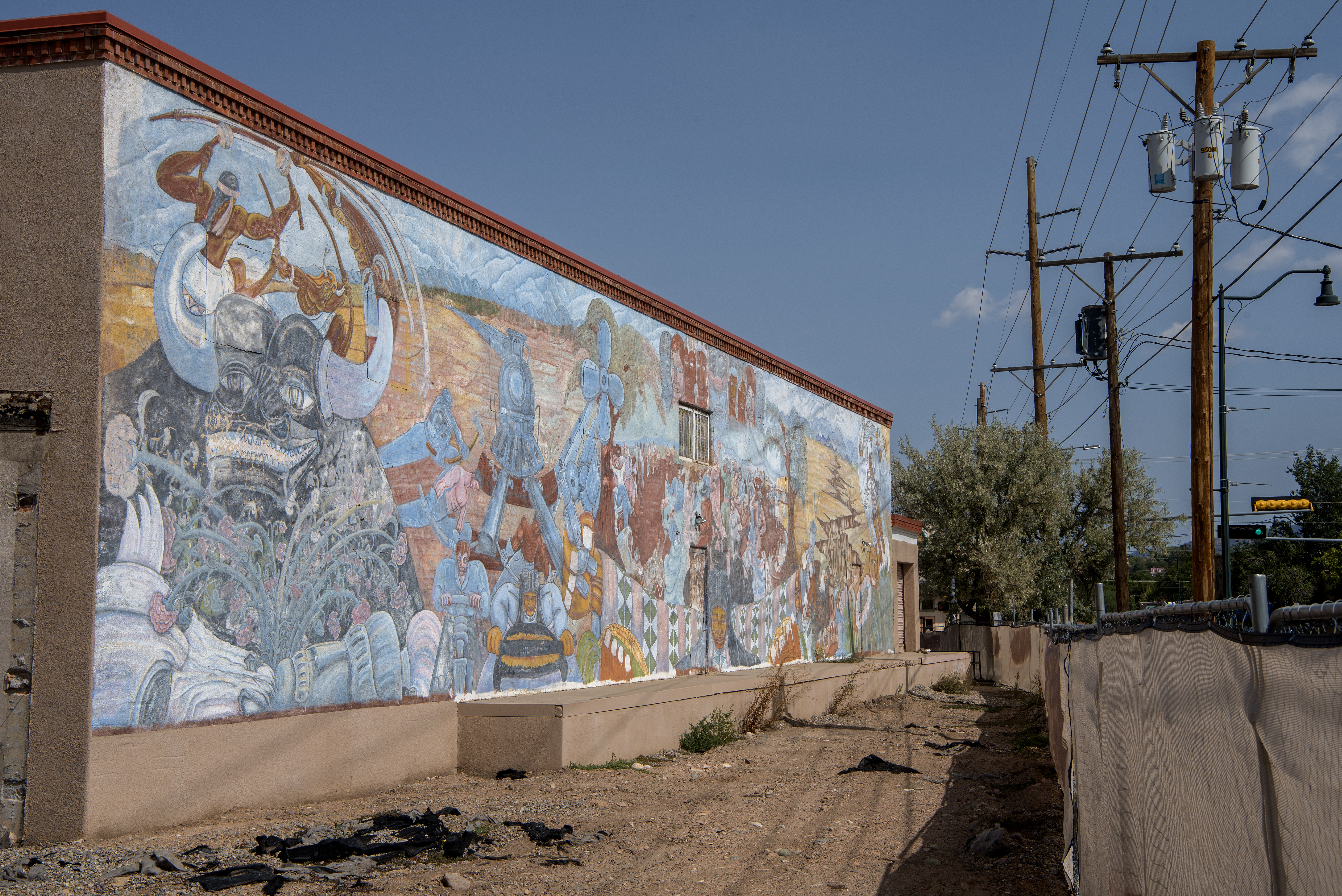 'Multicultural' mural not dead yet