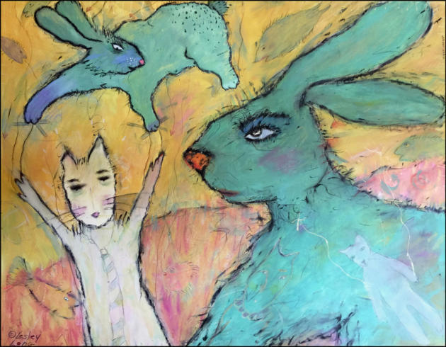 Lesley Long's journey in art driven by vivid imagination