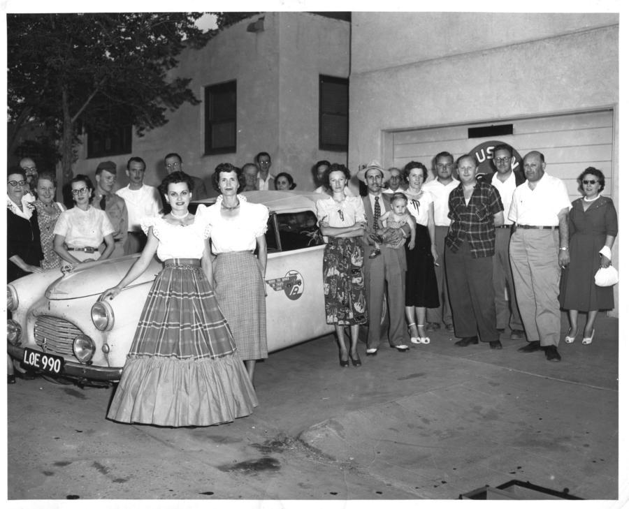 70 years ago ABQ was a pit stop in a race encircling the globe