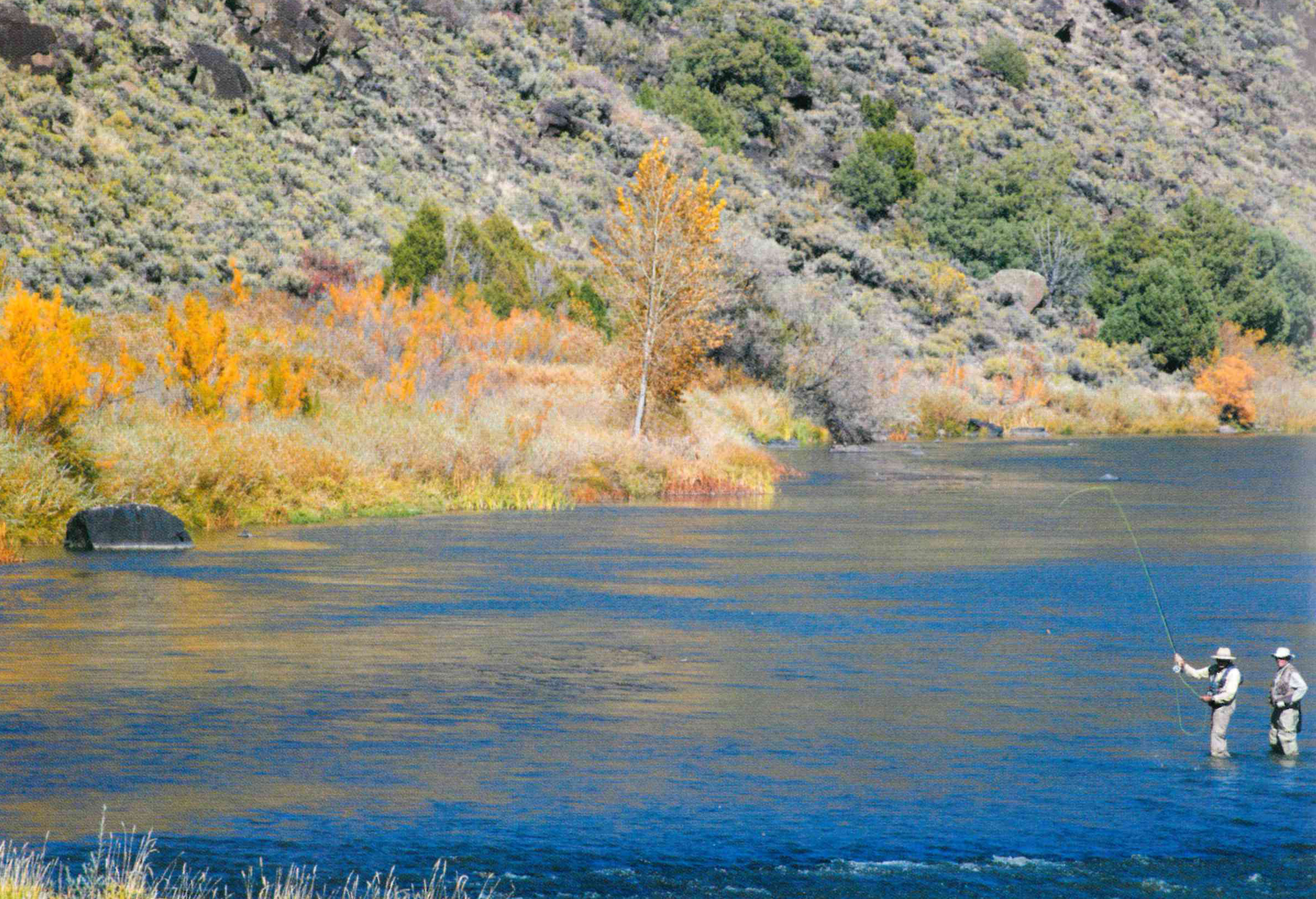 Author's latest book a guide to fly fishing in Northern New Mexico