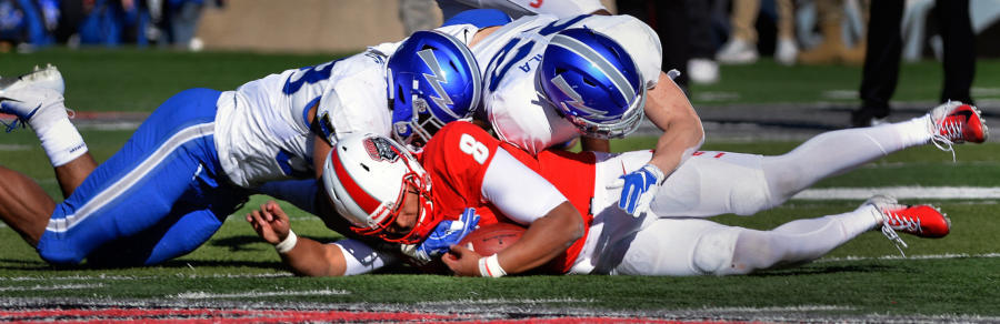 Lobo QB Tuioti still hasn't been cleared (or ruled out) after three concussions