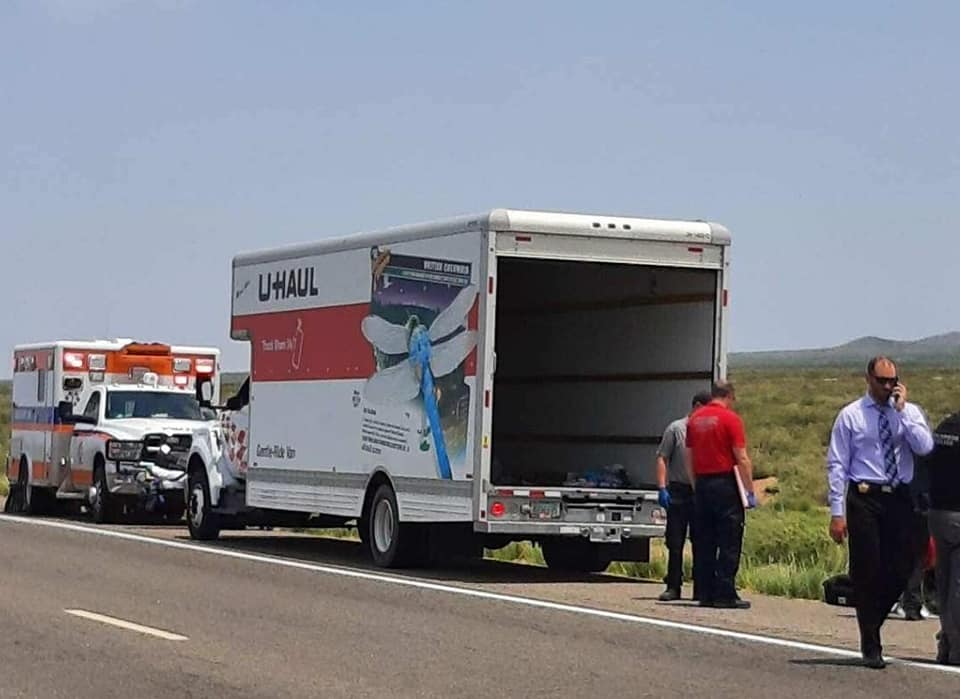Pair charged for migrant death inside U-Haul truck